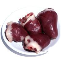 Turkey hearts 3 kg, detachable to the unit