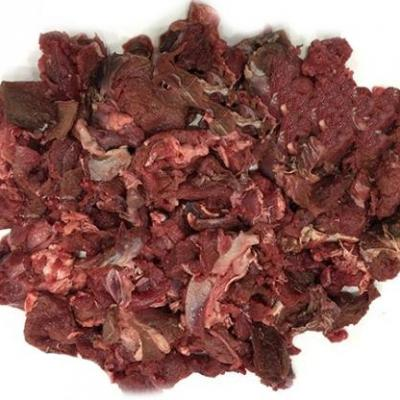 Viande de cerf en cubes, 2 kg